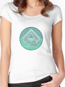Skyview Mint Women's Fitted Scoop T-Shirt