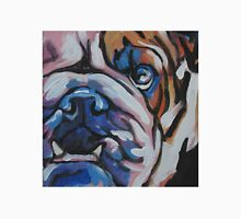 English BullDog Bright colorful pop dog art Unisex T-Shirt