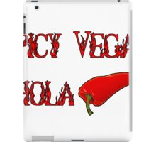 Spicy Vegan Chola  iPad Case/Skin