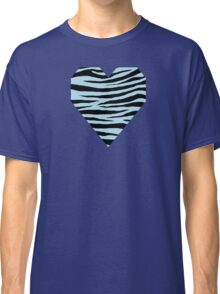 0362 Light Blue Tiger Classic T-Shirt