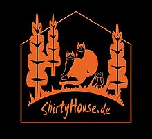 ShirtyHouse Cats by fuxart
