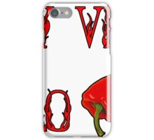 Spicy Vegan Cholo Pepper iPhone Case/Skin