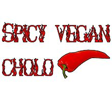 Spicy Vegan Cholo Pepper Photographic Print