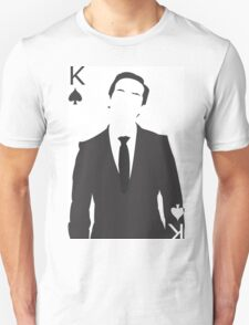 Minimalist Jim Moriarty - King of Spades Unisex T-Shirt
