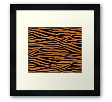 0363 Light Brown Tiger Framed Print