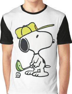 Snoopy Golf Graphic T-Shirt