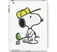 Snoopy Golf iPad Case/Skin