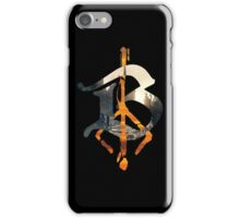 Bloodborne B Hunter's Mark iPhone Case/Skin