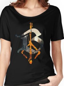 Bloodborne B Hunter's Mark Women's Relaxed Fit T-Shirt
