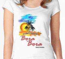Ultimate Paradise Bora Bora Women's Fitted Scoop T-Shirt