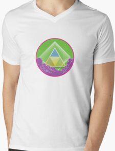 Skyview Candy Mens V-Neck T-Shirt