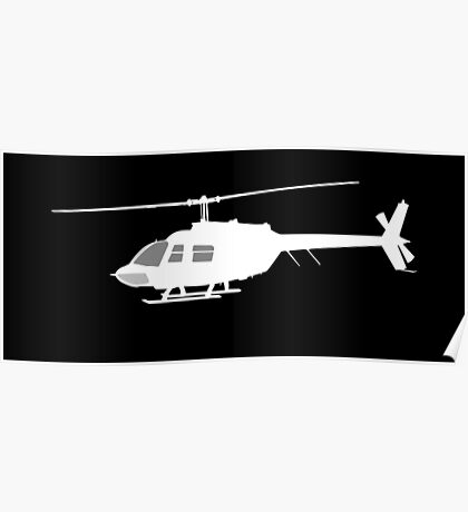 Urban Chopper Helicopter Poster