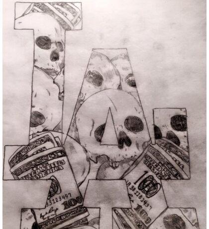 LA Schädel/Geld LA Skulls/Money Sticker