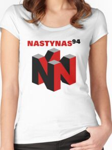 Nasty Nas 94 Women's Fitted Scoop T-Shirt