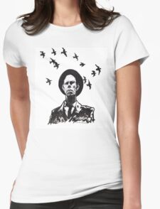 Old Crow Womens Fitted T-Shirt