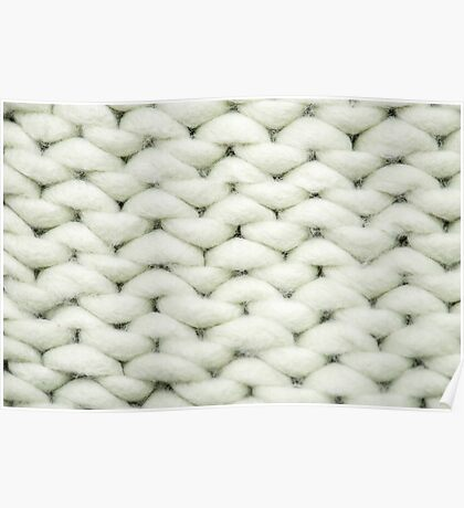 knit background Poster