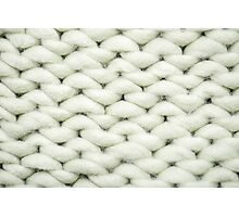 knit background Photographic Print
