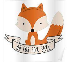 fox sake Poster