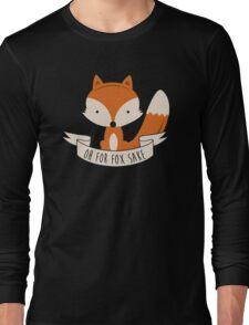 fox sake Long Sleeve T-Shirt