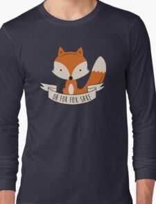 fox sake Long Sleeve T-Shirt