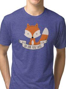 fox sake Tri-blend T-Shirt