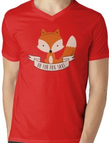 fox sake Mens V-Neck T-Shirt