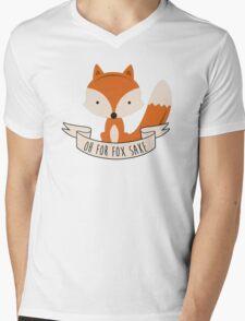 fox sake Mens V-Neck T-Shirt