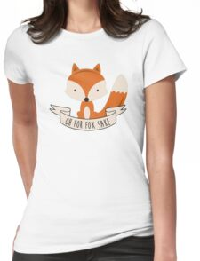 fox sake Womens Fitted T-Shirt