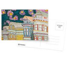 San Francisco Houses #1 Postcards