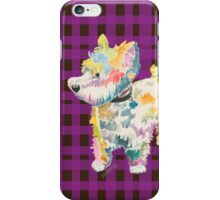 Riley (a dog of new york) iPhone Case/Skin