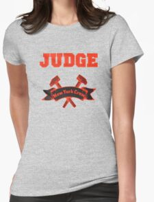 Judge - New York Crew Womens Fitted T-Shirt