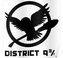 Platform District 9 3/4 Poster