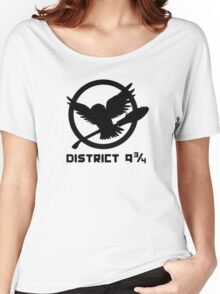 Platform District 9 3/4 Women's Relaxed Fit T-Shirt