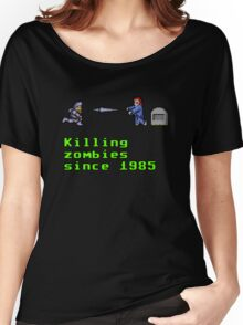 Killing zombies since 1985. Women's Relaxed Fit T-Shirt