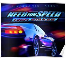 Need For Speed - High Stakes Poster