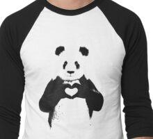 BW LOVING PANDA Men's Baseball ¾ T-Shirt