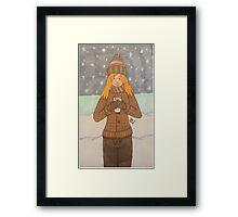 Hot Coco Framed Print