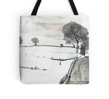 YORKSHIRE SNOW SCENE 2 Tote Bag