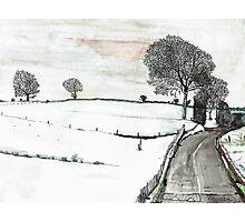 YORKSHIRE SNOW SCENE 2 Photographic Print