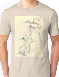 Sketching birds Unisex T-Shirt