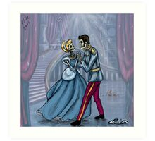 Dancing After Midnight Art Print