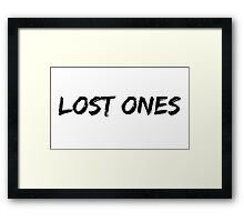 Lost Ones Framed Print