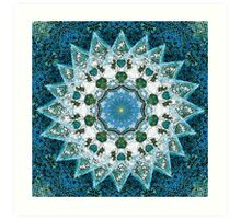 Orbital Eye Mosaic Art Print