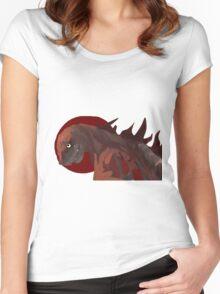 Shin Godzilla Women's Fitted Scoop T-Shirt