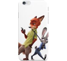 Zootopia - Nick and Judy iPhone Case/Skin