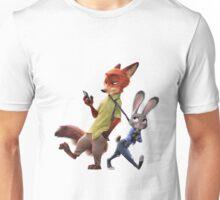 Zootopia - Nick and Judy Unisex T-Shirt