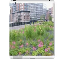 High Line, New York's Elevated Garden and Walking Path iPad Case/Skin