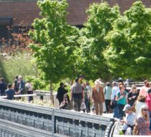 The High Line, New York City's Elevated Garden and Park Sticker
