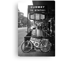 FLINDERS SUBWAY Canvas Print