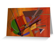 Abstract composition 73 Greeting Card